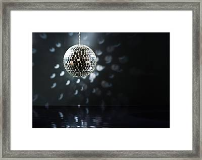 Mirrorball Framed Print