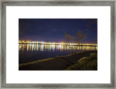 Mirrored Image Framed Print by Joshua Dwyer