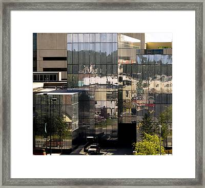 Mirroring  Framed Print by Tara Lynn