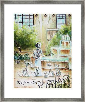 Mis Perros Framed Print