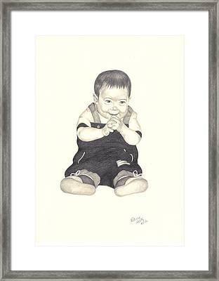 Mischievous Framed Print by Patricia Hiltz