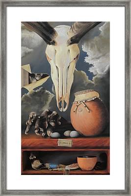 Curio - Pastel Framed Print