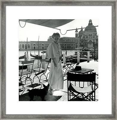 Misia Sert In Venice Framed Print