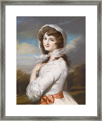 Miss Adelaide Paine Framed Print by William Hamilton