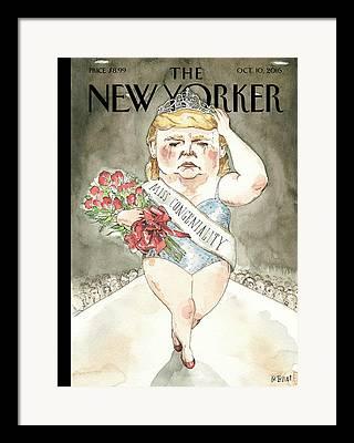 Trump Framed Prints