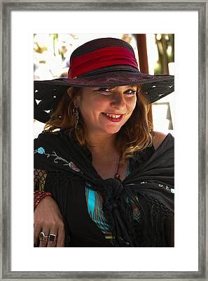 Miss Dawn Framed Print