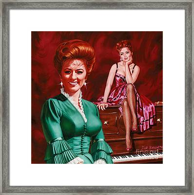 Miss Kitty Framed Print by Dick Bobnick