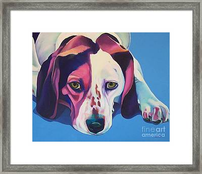 Miss Lucy Mills Framed Print