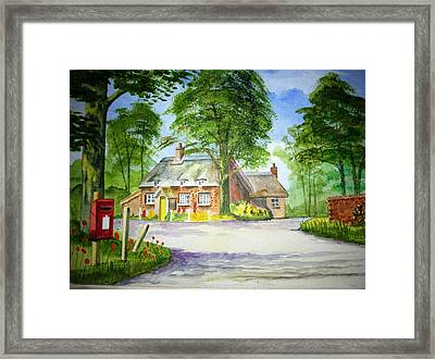Miss Marples Cottage  St Mary-meade Framed Print by Ian Scott-Taylor