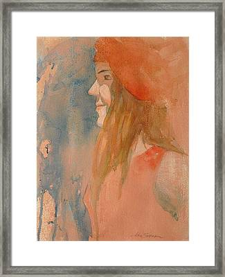Miss Melody Framed Print by John  Svenson