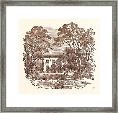 Miss Mitfords Cottage, Swallowfield Framed Print
