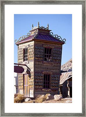 Miss Molly's House Framed Print by Ivete Basso Photography