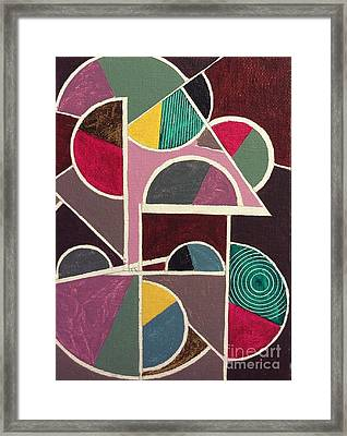 Miss Number One Framed Print by Hang Ho