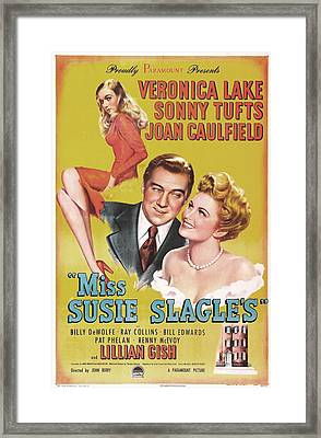 Miss Susie Slagles, Us Poster, From Top Framed Print