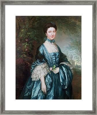 Miss Theodosia Magill, Countess Clanwilliam D. 1817, 1765 Framed Print