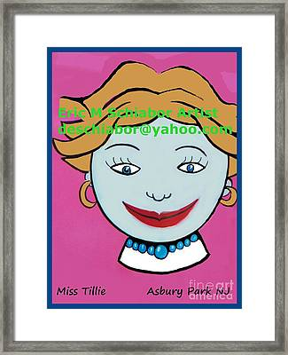 Miss Tillie Framed Print
