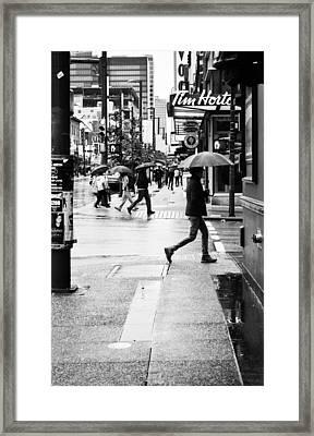 Missed Coffee Framed Print