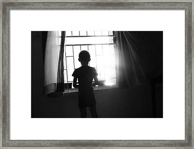 Missing Daddy Framed Print by Dexter Browne