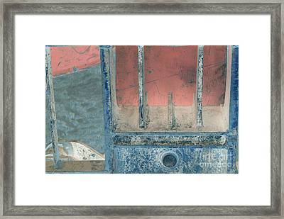 Missing Middle Bar Right Horizontal Framed Print by Heather Kirk