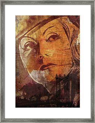 Missing New York Framed Print by Steve K