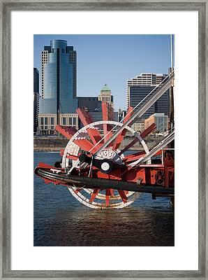 Missing Paddle Framed Print