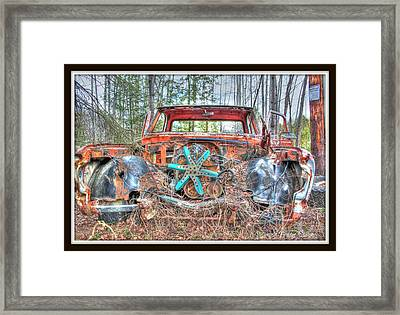 Missing Parts Framed Print by Michaela Preston