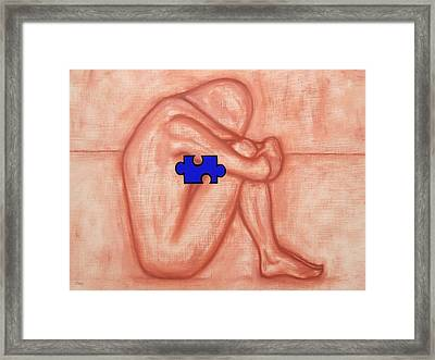 Missing Piece 1 Framed Print by Patrick J Murphy