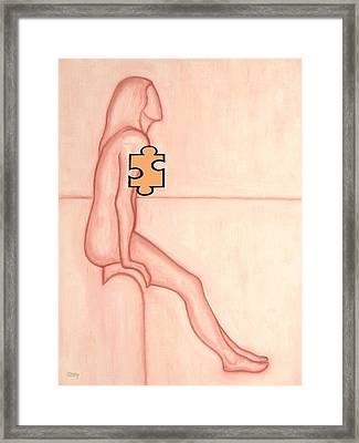 Missing Piece 2 Framed Print by Patrick J Murphy