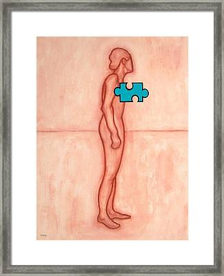 Missing Piece 8 Framed Print by Patrick J Murphy