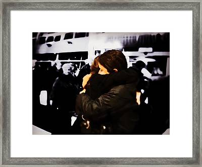 Missing You Already Framed Print