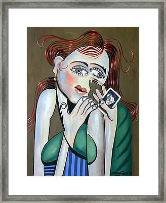 Missing You Framed Print by Anthony Falbo