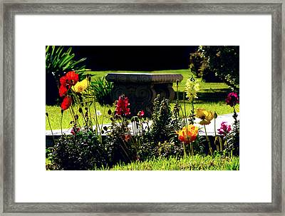 Missing You Framed Print by Camille Lopez