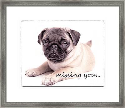 Missing You... Framed Print by Edward Fielding