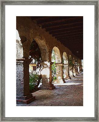 Mission 2 Framed Print