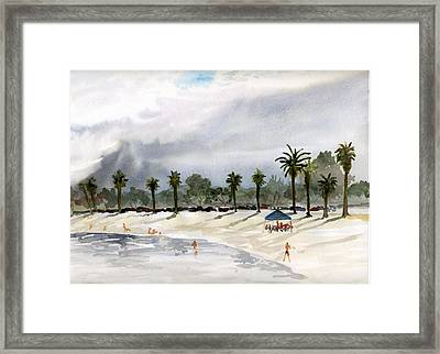 Mission Bay 2 Framed Print