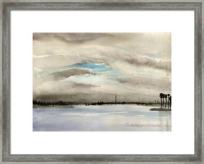 Mission Bay 3 Framed Print