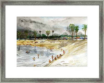 Mission Bay 1 Framed Print
