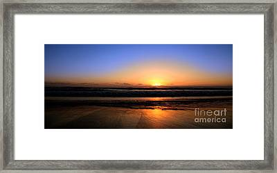 Mission Beach San Diego Framed Print
