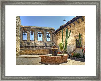Mission Bells Framed Print by Geraldine Alexander