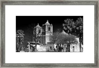 Mission Concepcion Framed Print by Brian Kerls