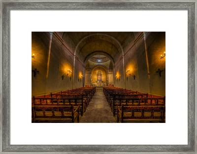 Mission Concepcion Framed Print by David Morefield