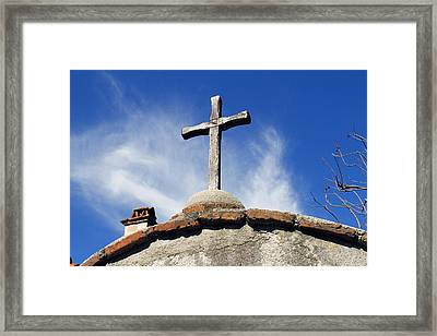 Mission Cross Framed Print by Shoal Hollingsworth