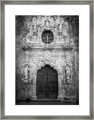 Mission Entrance Framed Print