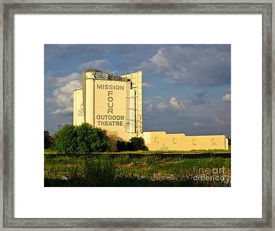 Mission Four Framed Print by Gary Richards