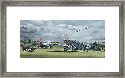 Mission From Debden Framed Print