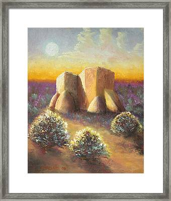 Mission Imagined Framed Print by Jerry McElroy