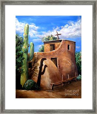 Mission In The Sun Framed Print