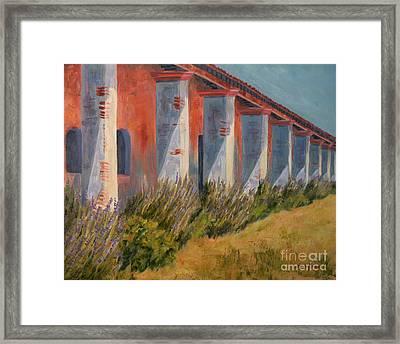 Mission Lavender Framed Print