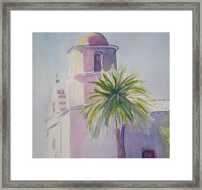 Mission Framed Print by Lori Chase