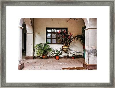 Framed Print featuring the photograph Mission Nuestra Senora De Loreto Concho by Kandy Hurley